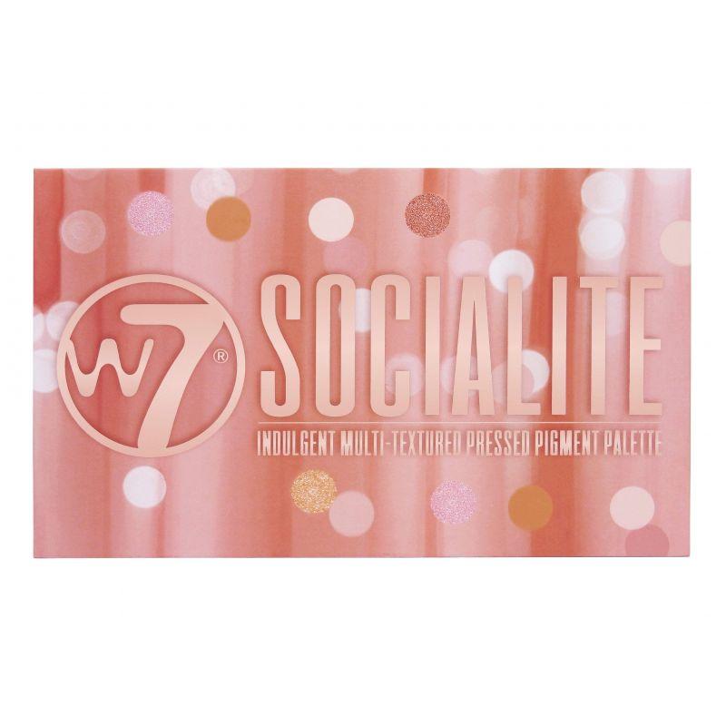 W7 Cosmetics Socialite Eyeshadow Palette 17gr - W7 MakeUp
