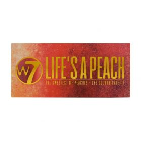 W7 Life's A Peach The Sweetest of Peaches Eye Colour Palette 9.6g - W7 MakeUp
