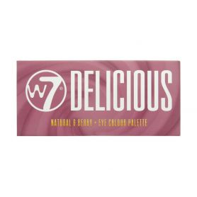 W7 Cosmetics Delicious Natural and Berry Eye Colour Palette - W7 MakeUp
