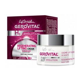 Gerovital H3 Evolution Αναζωογονητική Lifting Kρέμα Nυκτός 50ml - Gerovital