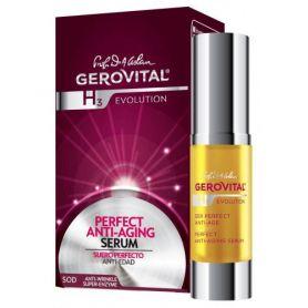 Gerovital H3 Evolution Εντατικός Αντιγηραντικός Ορός - Serum 15ml - Gerovital