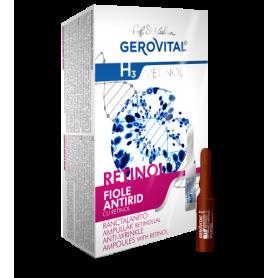 Gerovital H3 Retinol Αντιρυτιδικές Αμπούλες Ρετινόλης 6%  10 amp x 2ml -pharmacystories