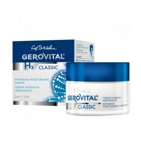 Gerovital H3 Classic Εντατική Eνυδατική Kρέμα Hμέρας 50ml - Gerovital