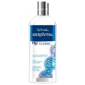 Gerovital H3 Classic Ενυδατικό Γαλάκτωμα Καθαρισμού 2 σε 1, 200ml-pharmacystories