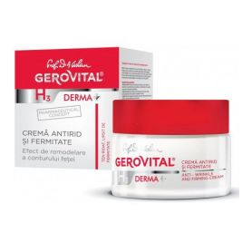Gerovital H3 Derma +Αντιρυτιδική & Συσφικτική Κρέμα 24ωρη 50ml -pharamcystories
