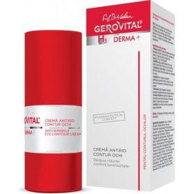 Gerovital H3 Derma+ Αντιρυτιδική Lifting Κρέμα Ματιών 15ml - Gerovital