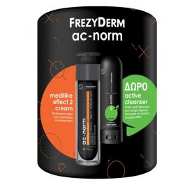 Frezyderm Ac-Norm Medilike Effect 2 50ml Cream Με Δώρο Δείγμα Ac-Norm Active Cleanser-pharmacystories