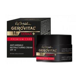 Gerovital Derma+ Αντιρυτιδική Κρέμα Αναδόμησης SPF 10 - Gerovital