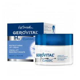 Gerovital Αναζωογονητική Κρέμα Lifting Nυκτός 50ml - Gerovital