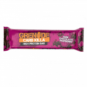 Grenade Carb Killa Μπάρες Υψηλής Πρωτεΐνης Dark Chocolate Raspberry, 60gr - Grenade