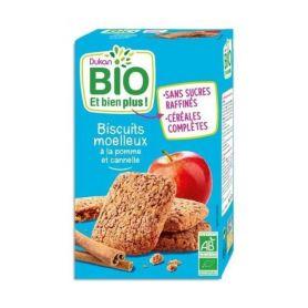 Dukan BIO Μπισκότα Βρώμης με Μήλο και Κανέλα, 150 γρ - Dukan