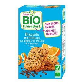 Dukan Bio Μπισκότα Βρώμης Με Κομμάτια Σοκολάτας Και Πορτοκάλι 150gr-pharmacystories