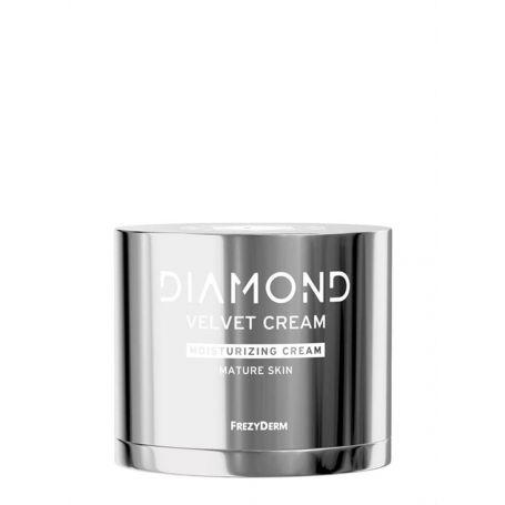 Frezyderm Diamond Velvet Moisturizing Cream - Ενυδατική Κρέμα Προσώπου για Ώριμο Δέρμα 50ml-pharmacystories