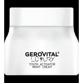 Gerovital Luxury Κρέμα Νυκτός Youth Activator 50ml - Gerovital