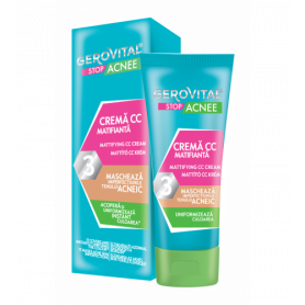 Gerovital Κρέμα CC κατά της Ακμής (Mattifying) 30ml - Gerovital