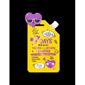 7 DAYS EMOTIONS Toner+Lotion+Essence 20ml - 7days