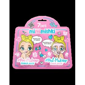 7 DAYS MIMIMISHKI PRE & POST MakeUp Pink 25g/25g - 7days