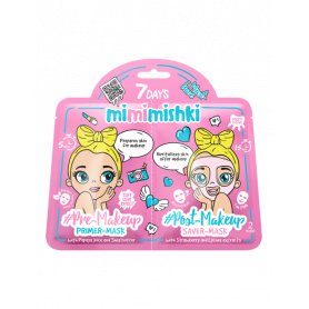 7 DAYS MIMIMISHKI PRE & POST MakeUp Pink 25g/25g-pharmacystories