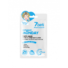 7 DAYS Dynamic Monday Sheet Mask 28g - 7days