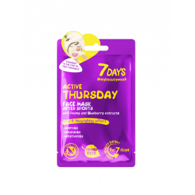 7 DAYS Active Thursday Sheet Mask 28g-pharmacystories