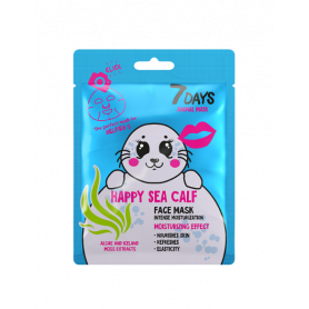 7 DAYS ANIMAL Happy Sea Calf Sheet Mask 28g-pharmacystories