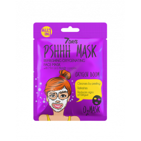 7 DAYS PSHHH Oxygen Boom Sheet Mask 25g-pharmacystories