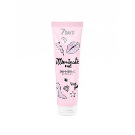 7 DAYS ROSE GIRL Shimmering Body Milk 150ml-pharmacystories