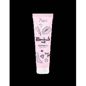 7 DAYS ROSE GIRL Shimmering Body Milk 150ml - 7days