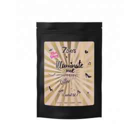 7 DAYS MISS CRAZY Shimmering Coffee Body Scrub 200g - 7days
