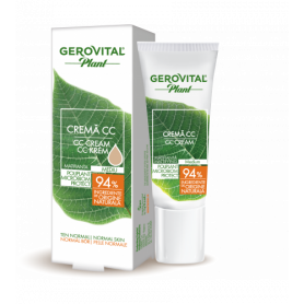 Gerovital Κρέμα CC Medium Mattifying Microbiom Protect 30ml - Gerovital