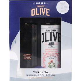 Korres Promo Olive Verbena , Αφρόλουτρο Λουίζα 250ml & ΔΩΡΟ Eau De Cologne Λουίζα 100ml - Korres