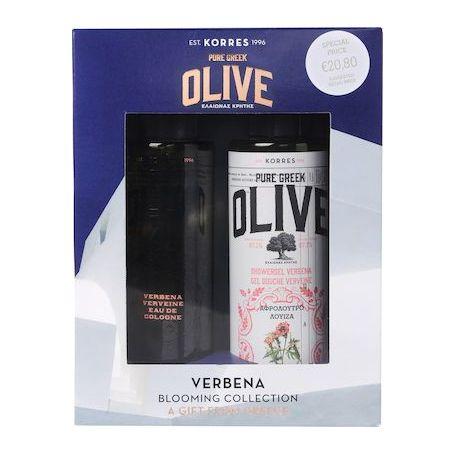 Korres Promo Olive Verbena , Αφρόλουτρο Λουίζα 250ml & ΔΩΡΟ Eau De Cologne Λουίζα 100ml