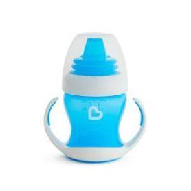 Munchkin Gentle First Cup Εκπαιδευτικό Κύπελλο με Λαβές Χρώμα Μπλε 4m+ 118ml - Munchkin