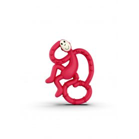 Matchstick Monkey Mini Monkey Teether Κόκκινο, Κρίκος Οδοντοφυΐας - Matchstick Monkey