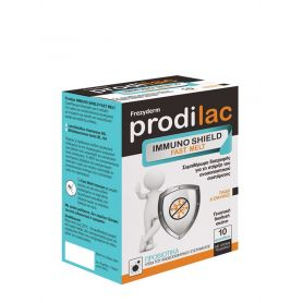 Frezyderm - Prodilac Immuno Shield Fast Melt Συμπλήρωμα Διατροφής με Προβιοτικά για Παιδιά & Ενήλικες - 10 Φακελάκια - Frezyderm