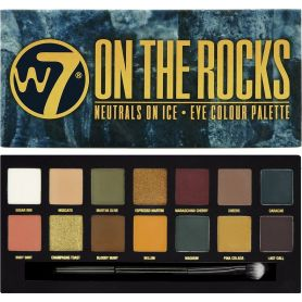 W7 On The Rocks Neutral On Ice Eye Colour Palette 11.2g - W7 MakeUp