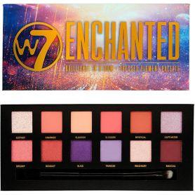 W7 Cosmetics Eye Colour Palette Enchanted 9,6g - W7 MakeUp