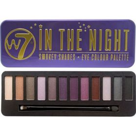 W7 In The Night Eye Colour Palette - Smokey Shades 15,6g - W7 MakeUp