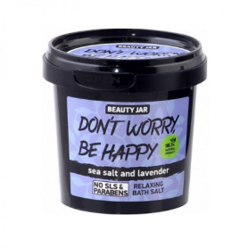 "Beauty Jar ""DON'T WORRY, BE HAPPY"" Χαλαρωτικά άλατα μπάνιου 200gr-pharmacystories-pharmacy-beauty jar"