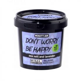"""Beauty Jar """"DON'T WORRY, BE HAPPY"""" Χαλαρωτικά άλατα μπάνιου 200gr - Beauty Jar"""