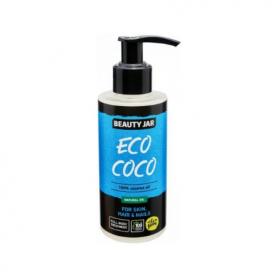 "Beauty Jar ""ECO COCO"" 100% έλαιο καρύδας 150ml-pharmacystories-pharmacy-beauty jar"