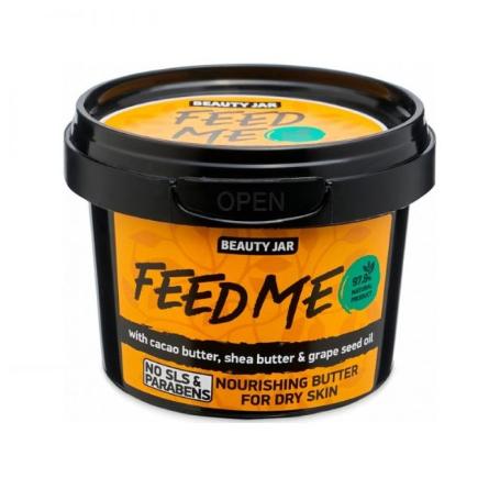"""Beauty Jar """"FEED ME"""" Θρεπτικό βούτυρο σώματος, 90gr-pharmacystories-pharmacy-beauty jar"""