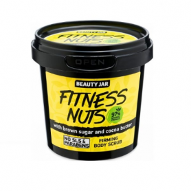 "Beauty Jar ""FITNESS NUTS"" Συσφικτικό scrub σώματος, 200gr - Beauty Jar"