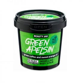 """Beauty Jar """"GREEN APELSIN"""" Scrub σώματος modellage, 200gr - Beauty Jar"""