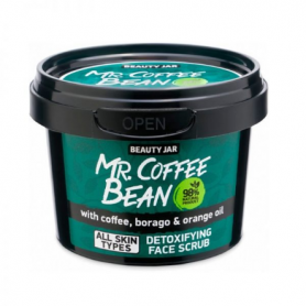 "Beauty Jar ""MR. COFFEE BEAN"" Scrub προσώπου για αποτοξίνωση 50gr - Beauty Jar"