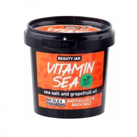 "Beauty Jar ""VITAMIN SEA"" Άλατα μπάνιου κατά της κυτταρίτιδας, 200gr - Beauty Jar"