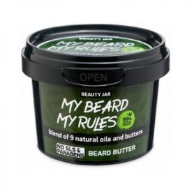 """Beauty Jar MY """"BEARD MY RULES"""" Ενυδατικό βούτυρο γενειάδας, 90gr - Beauty Jar"""