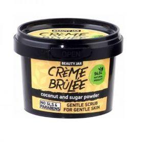 "Beauty Jar ""CRÈME BRÛLÉE"" Απαλό scrub για ευαίσθητες επιδερμίδες, 120gr-pharmacystories-pharmacy-beauty jar"