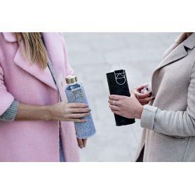 Γυάλινο Μπουκάλι νερού Equa Mismatch Collection 750ml Gold - Equa