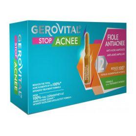 Gerovital Stop Acnee Αμπούλες Κατά της Ακμής, 10 αμπούλες - Gerovital